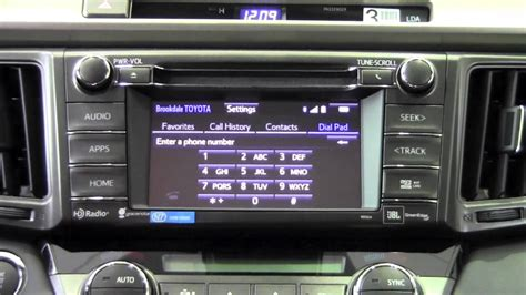 Brookdale Toyota by 2014 Toyota Rav4 Update Phone Book How To By