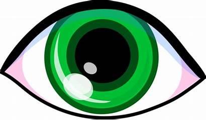 Eye Clip Clipart Eyes Cartoon Sight Sense
