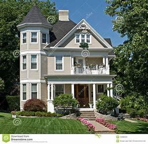 Viktorianisches Haus Kaufen : altes viktorianisches haus lizenzfreie stockbilder bild 10088429 ~ Markanthonyermac.com Haus und Dekorationen