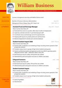 Up To Date Resume Format 2015 by Great Cv Formats 2016 You Should Try Best Resume Format