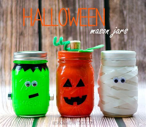 crafts with jars halloween mason jars mason jar crafts love