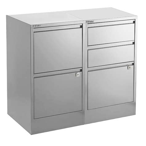 silver bisley 174 file cabinets the container store