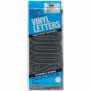 duro permanent adhesive vinyl letters 6inch 125224 With adhesive vinyl letters