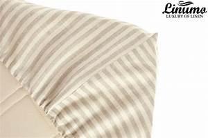 Gardinen Grau Weiß Gestreift : spannbettlaken ems 100 leinen wei grau gestreift versch gr leinenbettw sche linumo ~ Bigdaddyawards.com Haus und Dekorationen