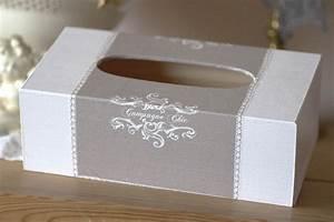 Boite Mouchoir Deco : boite mouchoirs romantique en bois campagne chic esprit shabby chic bo tes coffrets ~ Melissatoandfro.com Idées de Décoration