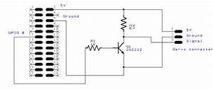 controlling a servo using raspberry pi and wiringpi With wiringpi raspbian