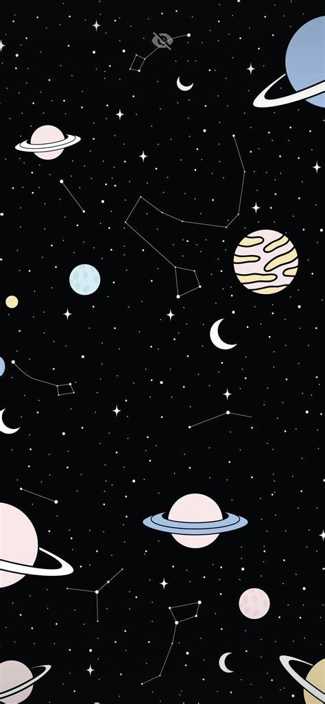 galaxy cartoon wallpapers wallpaper cave