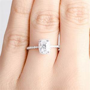 Heart Diamond Engagement Ring On Hand Beautiful |Ring ...