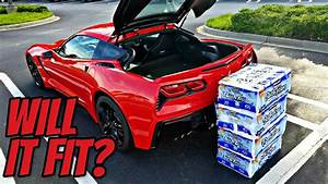 Will it Fit? Testing The Trunk Capacity of My Corvette