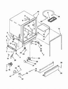 Tub Assembly Parts Diagram  U0026 Parts List For Model