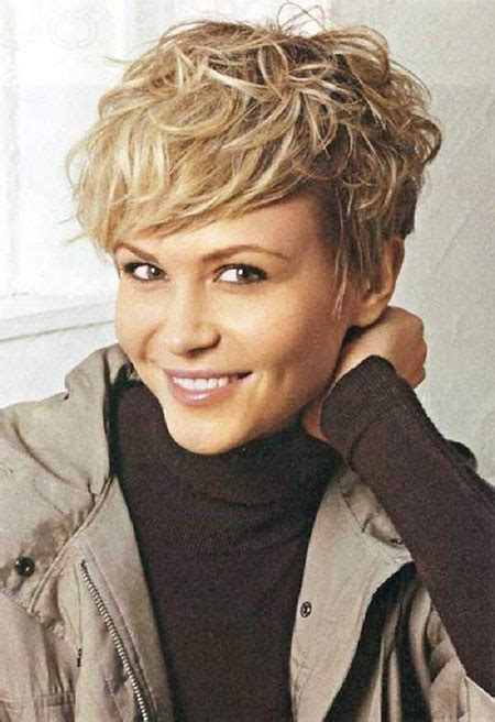 20  Pics of Short Curly Hairstyles with Bangs   Short
