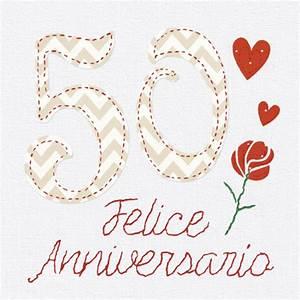 Felice 50 Anniversario MatrimonioAnniversario