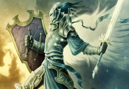 holy warrior - Fantasy & Abstract Background Wallpapers on ...