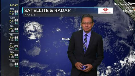 Team usa men's basketball is off to a rough start at the tokyo olympics. Morning Weather Forecast from Hawaii News Now - Tuesday ...