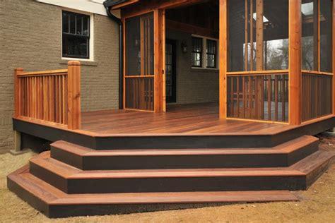 stair ideas  porches hgtv