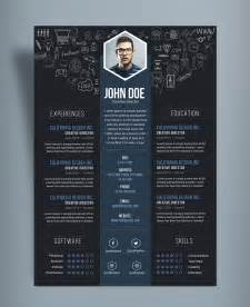Creative Professional Resume Templates Free Creative Resume Cv Designtemplate Psd File Resume