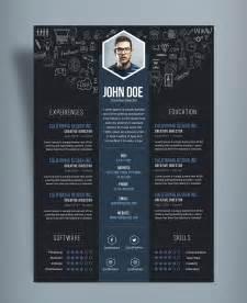Free Creative Resume Cv Designtemplate Psd File Good