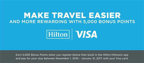 The card comes with other benefits, which include the macquarie honors platinum visa card will earn you the following points: Earn 5,000 Bonus Hilton HHonors Points With Your Visa ...