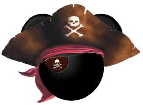 Pirate Mickey Mouse Ears Clip Art