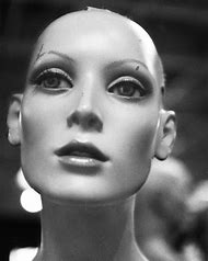 Black and White Mannequin