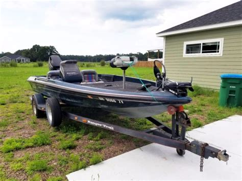 Used Ranger Boat Trailers For Sale by Ranger Bass Boat 1994 Trailer Motor For Sale In