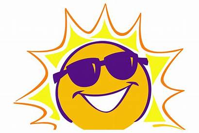 Clipart Summer Cliparts Clip August Camp July