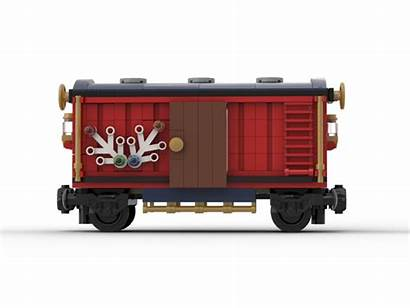 Moc Winter Train Holiday Box Rebrickable Lego