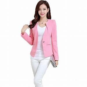 Aliexpress.com : Buy Spring Women Slim Blazer Coat 2016 ...