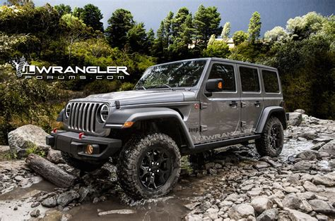 2018 jeep wrangler lifted 2018 jeep wrangler unlimited previewed in unofficial