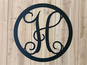 terrific front door monogram letter for your home apseco With monogram house letters