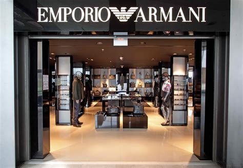 bd cuisine the armani opens its second emporio armani store at