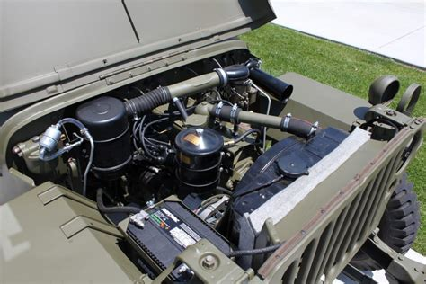 wwii jeep engine willys jeep mb totally car news
