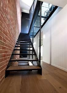 Escalier Metal Prix : les 25 meilleures id es de la cat gorie escalier suspendu ~ Edinachiropracticcenter.com Idées de Décoration