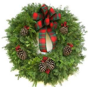 live cozy northwoods wreath plants beautiful trees