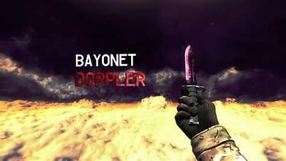 Wallpapers Knife Bayonet Csgo Doppler Cs Background