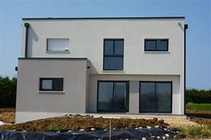 maison moderne toit plat 16jpg With delightful maison bois toit plat 16 extension de maison en bois