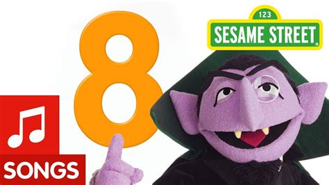 Number 8! (number Of The Day Song)