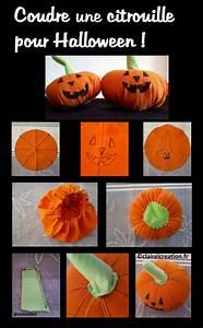 Une Citrouille Pour Halloween : coudre une citrouille pour halloween claire l ~ Carolinahurricanesstore.com Idées de Décoration