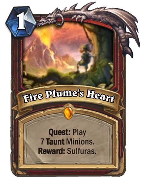 Warrior Hearthstone Deck Quest by Plume S Hearthstone Cards Spoiler