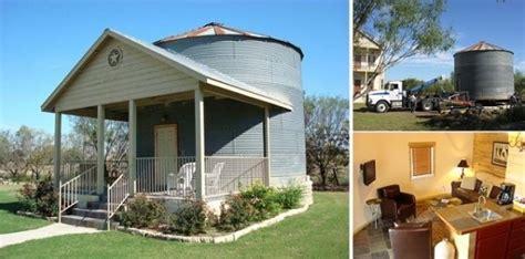 grain silo tiny house