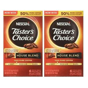 How to prepare the perfect cup of nescafé instant coffee in a few simple steps. Nescafe Instant Coffee Packets Taster's Choice House Blend Drink Packets 2 Boxes 28000268930 | eBay