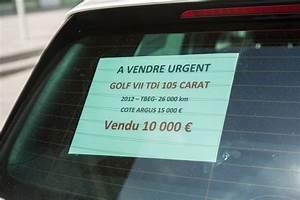 Argus Vente Voiture D Occasion : occasion cinq r flexes pour r ussir la vente de sa voiture photo 2 l 39 argus ~ Gottalentnigeria.com Avis de Voitures