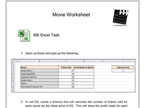 worksheet excelwordict questionsemail tasks