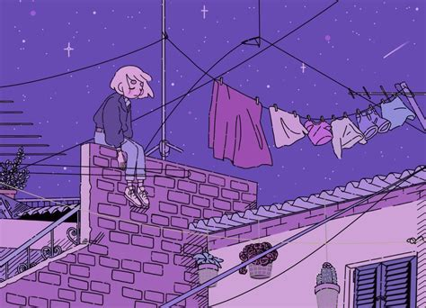 Anime Aesthetic Wallpaper - lo fi wallpapers wallpaper cave