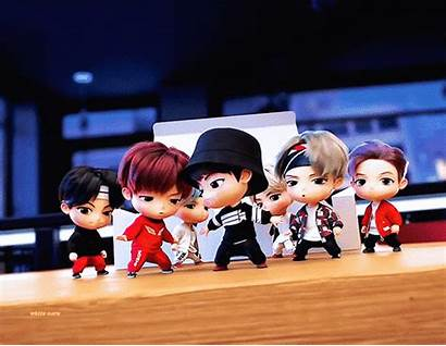Bts Character Touched Netizens Tan Animation Tiny