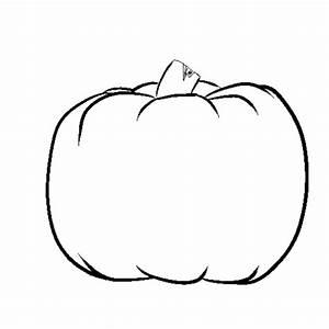 Pumpkin, Outline, Drawing