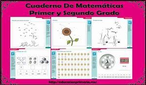 Excelente cuaderno de ejercicios de matemáticas para primer y segundo grado Educación Primaria
