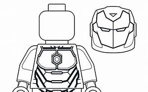 Mighty Micros Iron Man - Coloring Pages - Lego U00ae Marvel U2122 Super Heroes