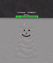 snowman roblox undertale monster mania wiki fandom
