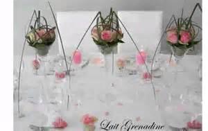 decoration table ronde mariage decoration de table mariage